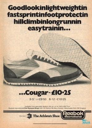 1977 Aug Reebok Cougar