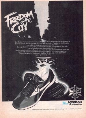 1979 Reebok Freedom of the City