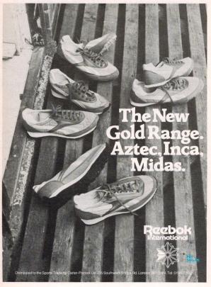 1979 Reebok Gold Range