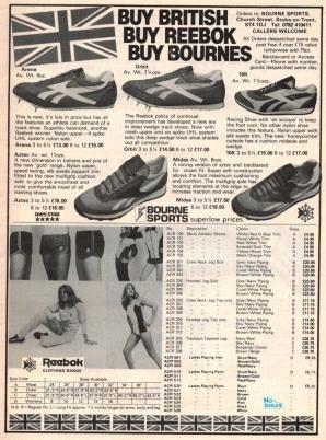 1980 Reebok Bournes Sports