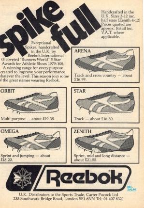 1980 Reebok Spikes
