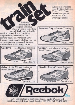 1980 Reebok Trainers