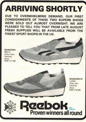 1981 reebok Shadows