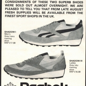 1981 reebok Shadows
