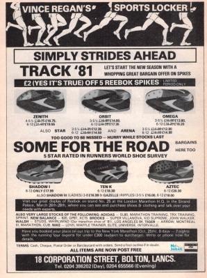 1981 Reebok Spikes