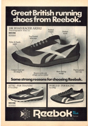 1981 Reebok Various