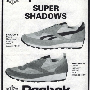 1982 Reebok Super Shadows