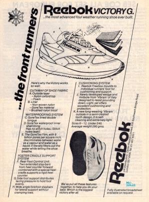 1982 Reebok Victory G