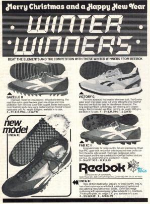 1982 Reebok Winter Warmers