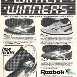 1982 Reebok Winter Warmers