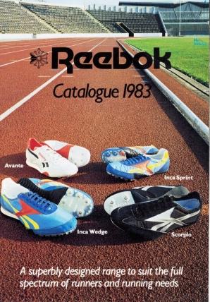 1983 Reebok Catalogue P1