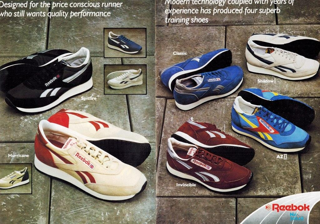 1983 Reebok Catalogue P2and3 | Retrobok