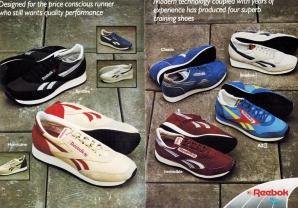 1983 Reebok Catalogue P2and3