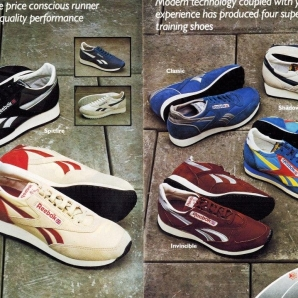 1983 Reebok Catalogue P2and3