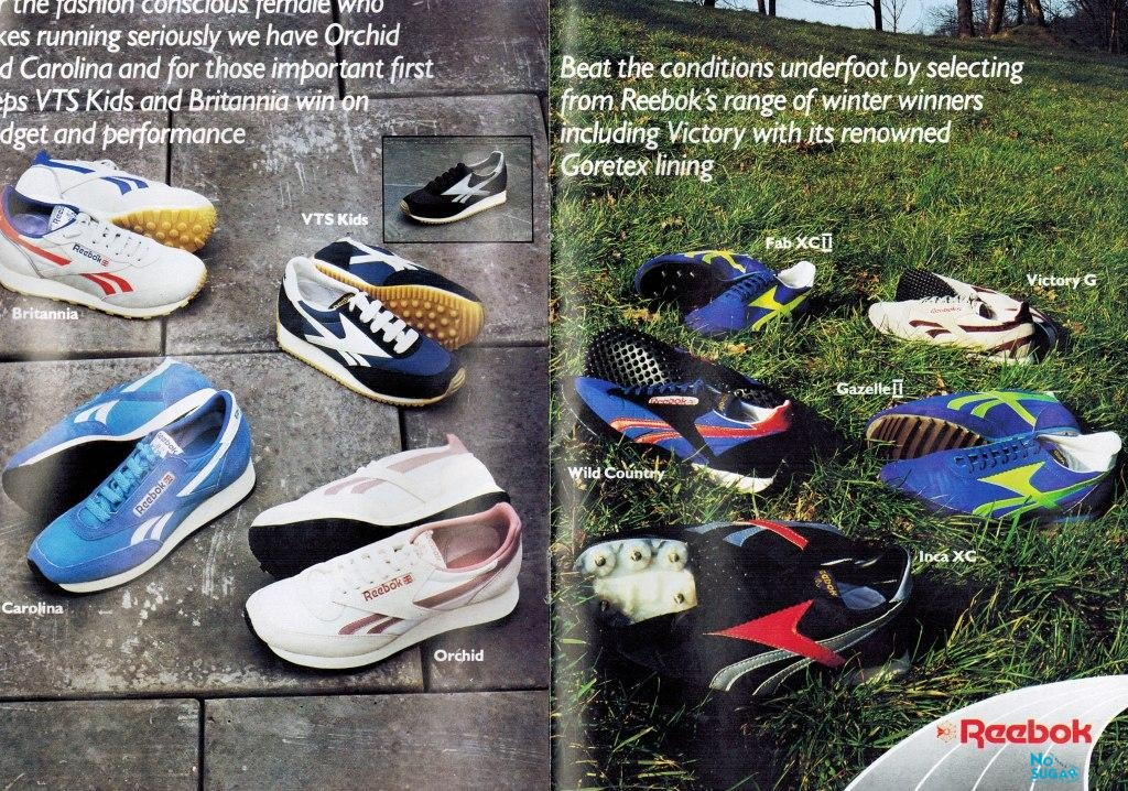 1983 Reebok Catalogue P4and5 | Retrobok
