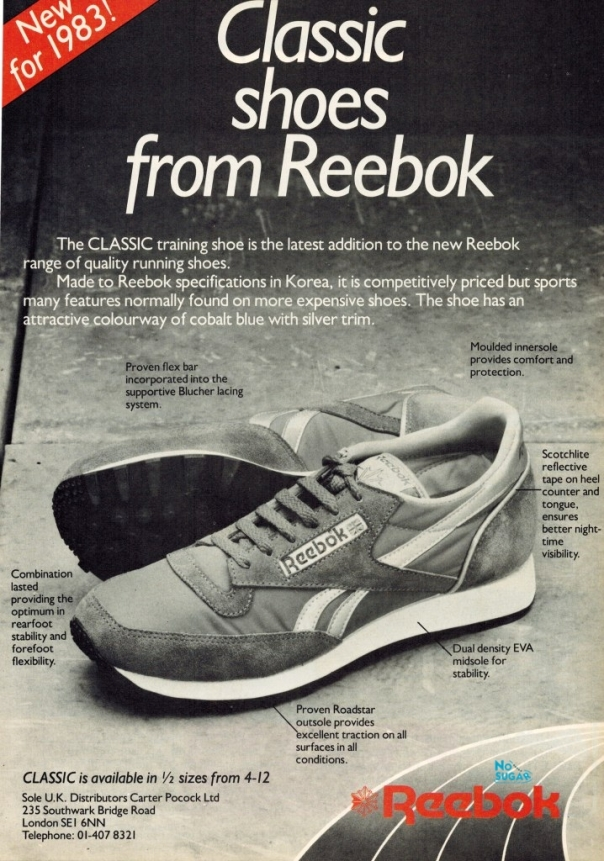 5748611785eac0 The Classic Leather name is obviously connected with the Reebok Classic –  can you tell me anything about the relationship of these 2 shoes