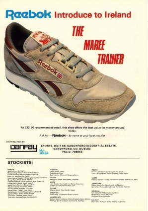 1983 Reebok Maree Trainer Irish