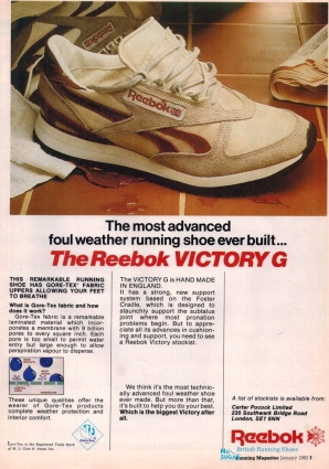 1983 Reebok Victory G