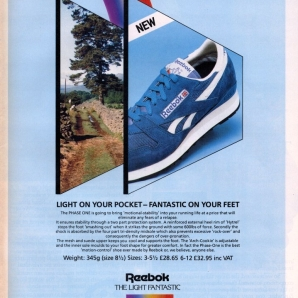 1984 Reebok Phase One