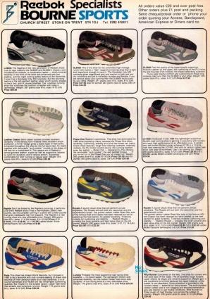 1986 Reebok Bournes Sports Range