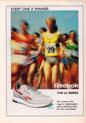 1987 Reebok LC Series