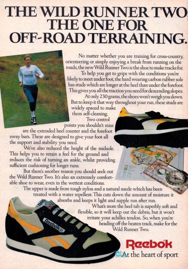 1987 Reebok Wild Runner Two