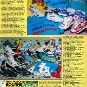 1988 Reebok Bournes Sports