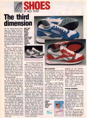 1988 Reebok Magazine Article