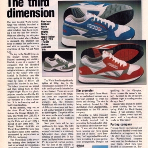 1988 Reebok Magazine Article