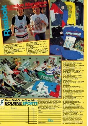 1988 Reebok Range Bournes Sports