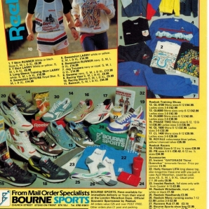 1988 Reebok Range Bournes Sports