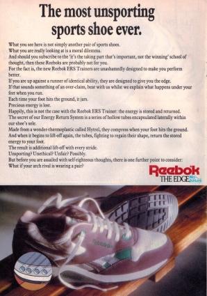 1989 Reebok ERS Trainer