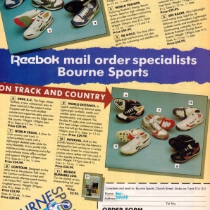 1990 Reebok Range Bournes Sports