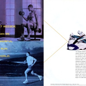 Dan O'Brien - Reebok Graphlite Pro Cross Trainer 1993