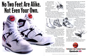 Reebok Pump basketball 1990 A