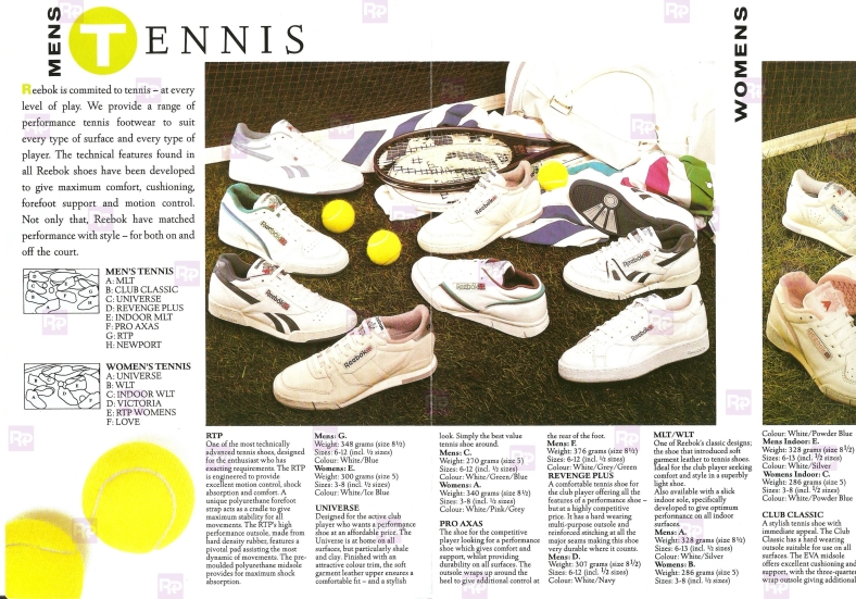 Reebok Racket Footwear 88_1
