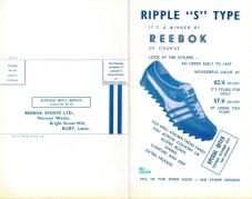 1966 Reebok Leaflet P1