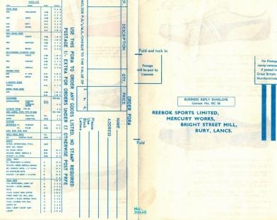 1967 Reebok Leaflet P2