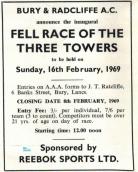 Early Reebok Sponsorship Jan 1969