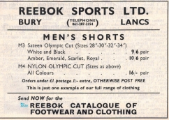 Reebok advert 1967