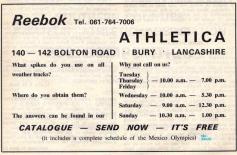 Reebok Athletica April 1968
