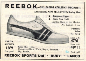 Reebok Marathon April 1967