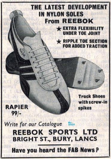 Reebok Rapier June 1966