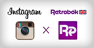 Instagram X Retrobok