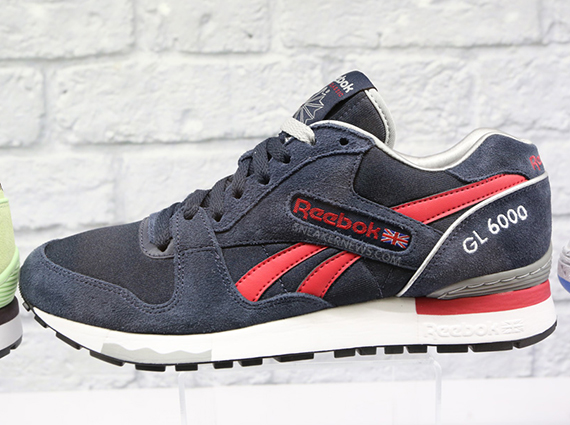 64385003e8f3 Buy reebok gl 6000 navy   OFF32% Discounted