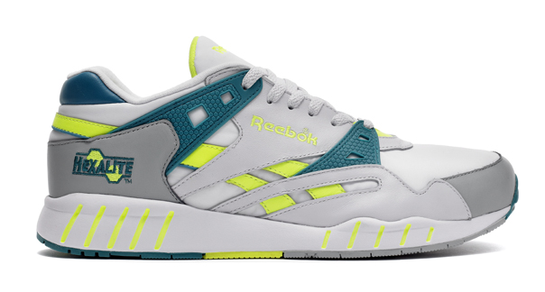 reebok hexalite. as part of reebok classics \u201ctech 90\u0027s\u201d campaign, and following directly on from a similar release pattern the ventilator inferno, comes sole hexalite