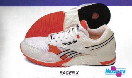 reebok racer x