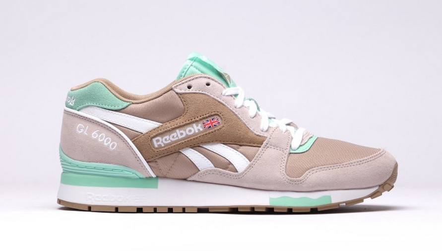 5c4ec288f89 1. Super-fresh colourway from Reebok Classics for the GL 6000 retro   officially Walnet Moon White Mint ...