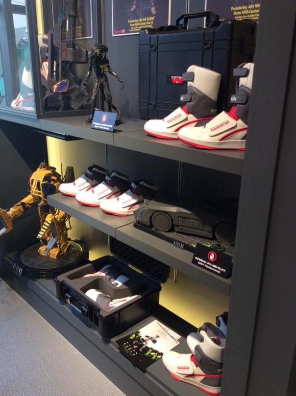Pump My Life posted some photos of an awesome display at Reebok Classic in  Harajuku c755518c1e